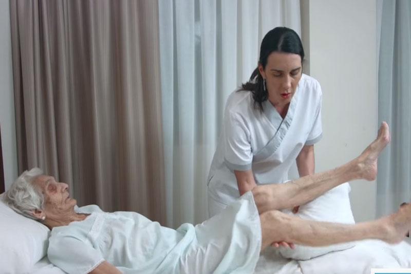 Paciente con movilidad reducida