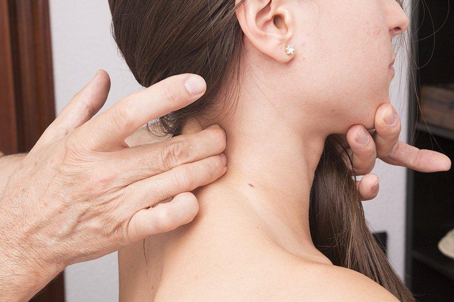 Dolor de cuello en las cervicales