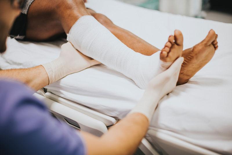 ¿Cómo dormir después de una operación?