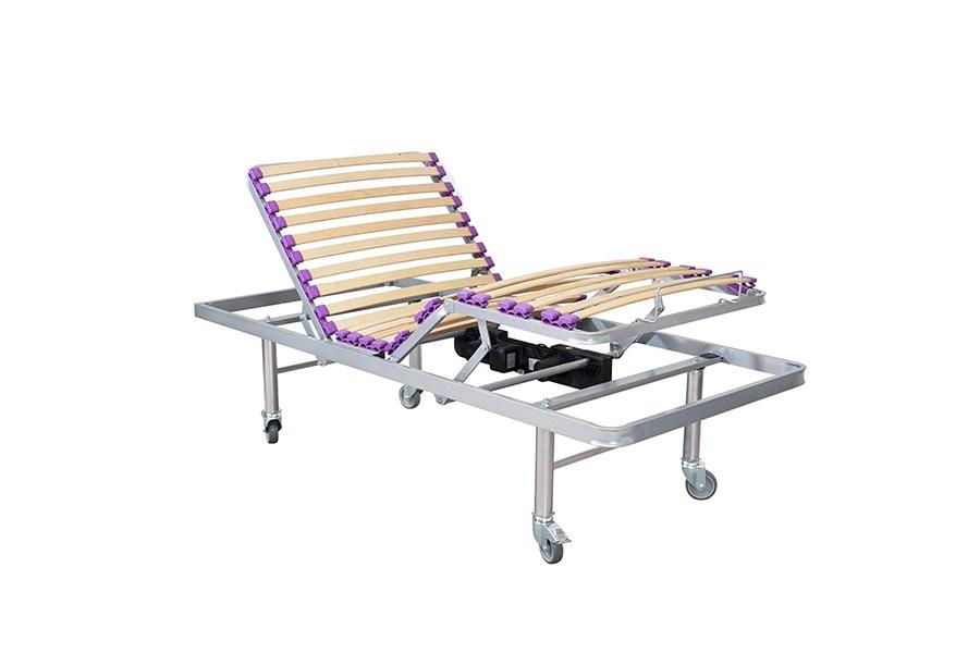 Somier el ctrico con patas de ruedas somieres - Patas de madera para somier ...